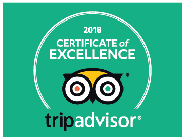 Certificate of Excellence 2018 EXIT/SALIDA Escape room